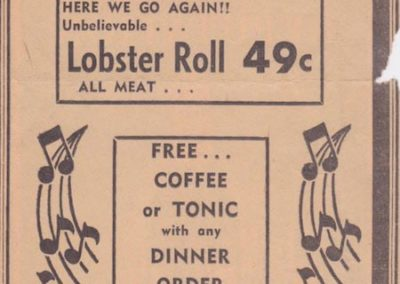 Dinnerhorn First Anniversary 1961